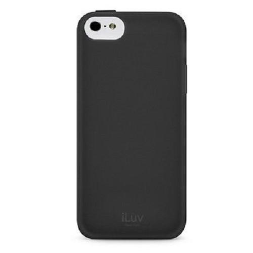 ILUV Gellato Case for Apple iPhone 5C [AILGELABK] - Black - Casing Handphone / Case